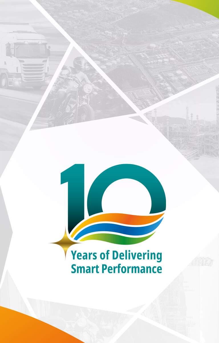 GS CALTEX 10th Anniversary Mobile Banner