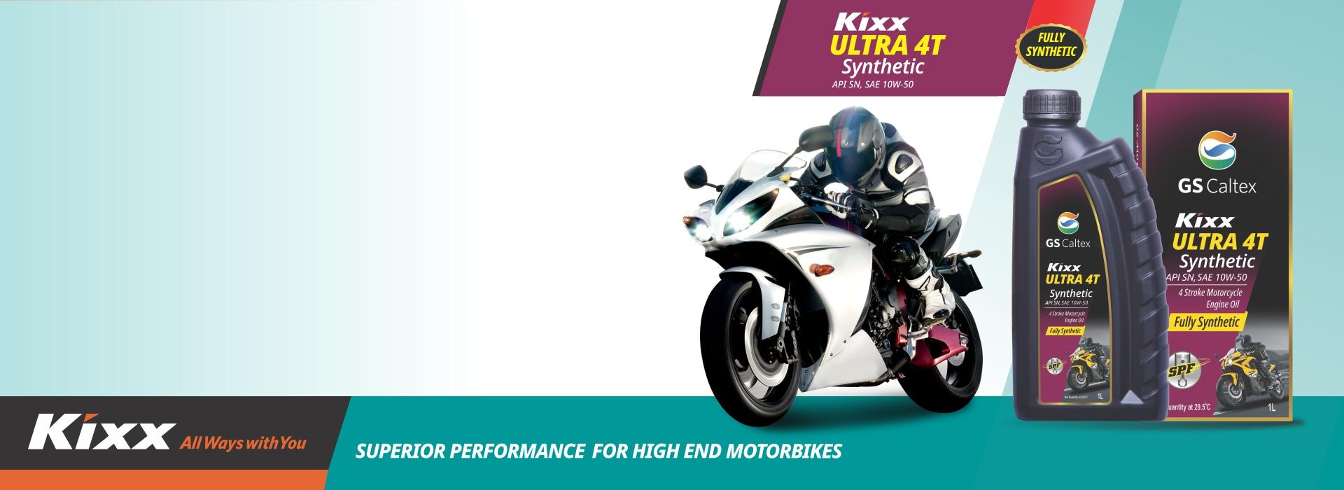 Kixx Ultra 4t Synthetic